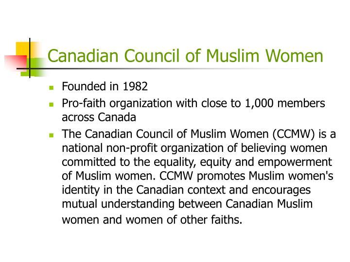 Canadian Council of Muslim Women