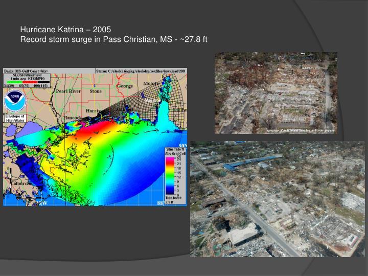 Hurricane Katrina – 2005