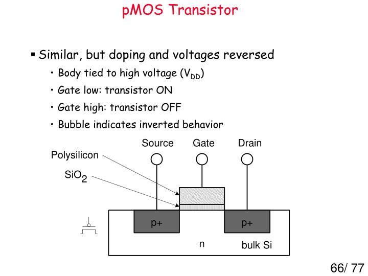 pMOS Transistor