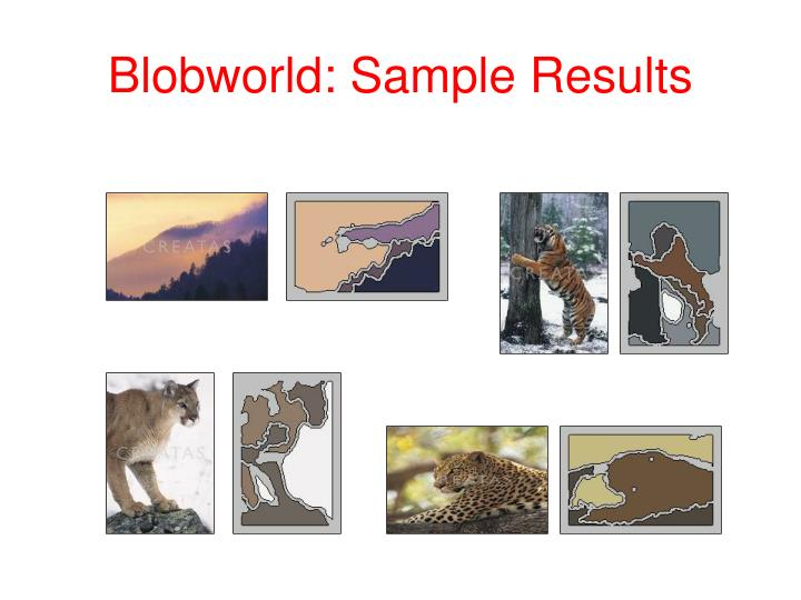 Blobworld: Sample Results