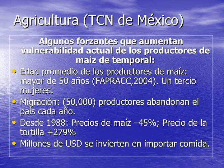 Agricultura (TCN de México)