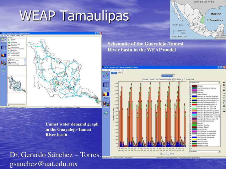 WEAP Tamaulipas