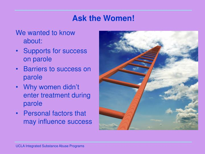 Ask the Women!