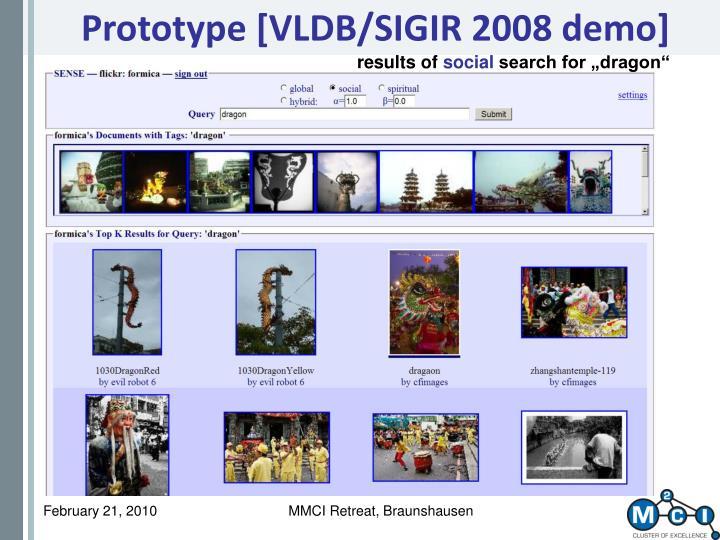 Prototype [VLDB/SIGIR 2008 demo]