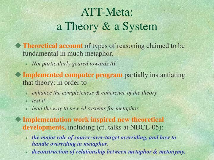 ATT-Meta: