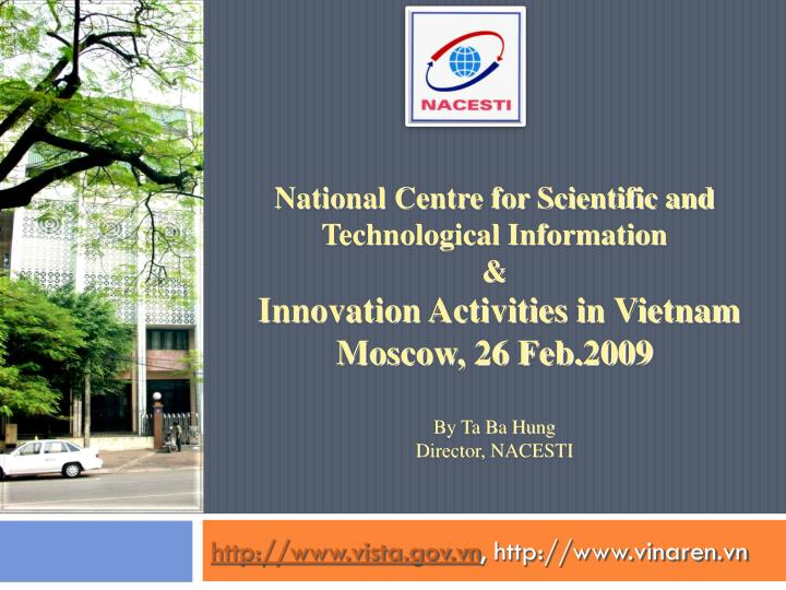 National Centre for Scientific and Technological Information