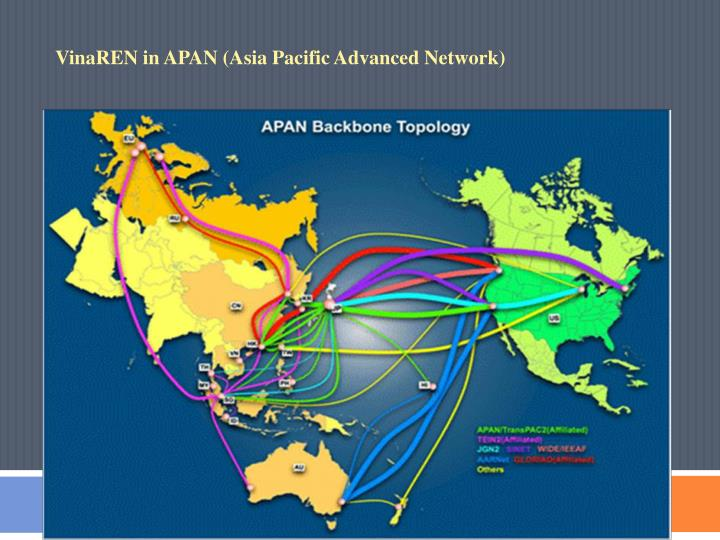 VinaREN in APAN (Asia Pacific Advanced Network)