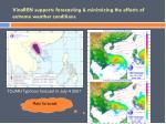 vinaren supports forecasting minimizing the effects of extreme weather conditions