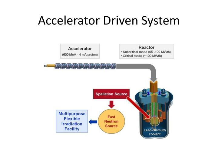 Accelerator driven system