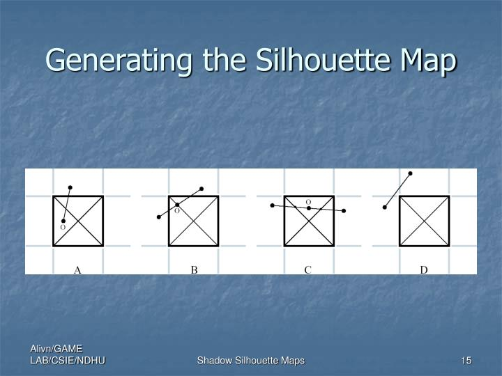 Generating the Silhouette Map