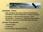 edsc progress