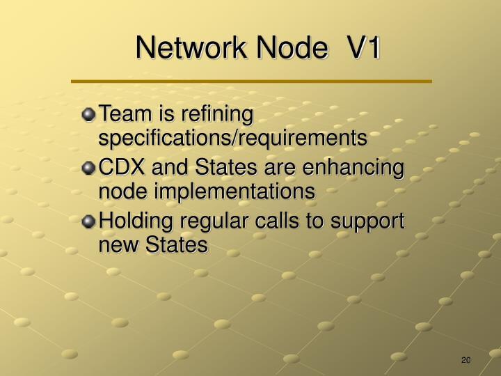 Network Node  V1
