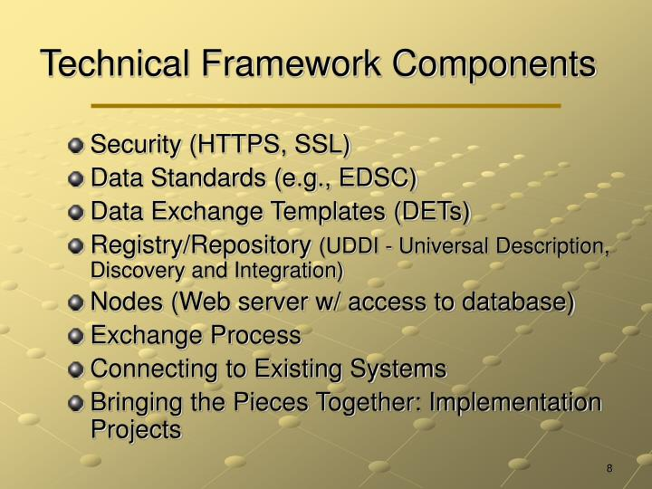 Technical Framework Components