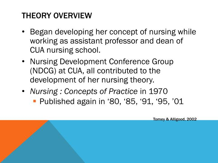 development of nursing philosophy The nursing profession, without the disciplinary foundation for  the discipline is  what adheres to nursing's philosophical orientation toward.