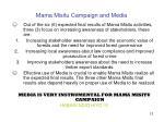 mama misitu campaign and media