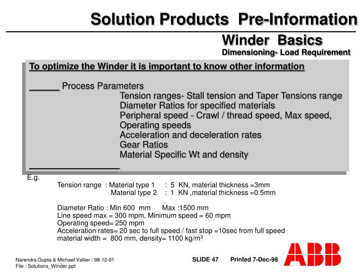 Winder  Basics