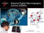 national digital mammography archive ndma