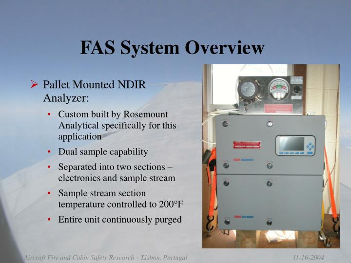 FAS System Overview