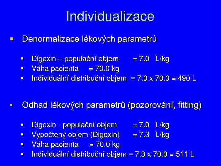 Individualizace