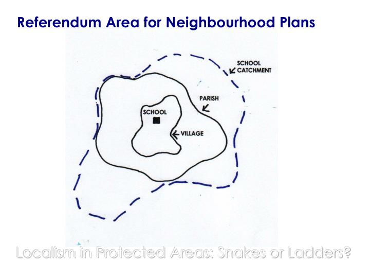 Referendum Area for Neighbourhood Plans