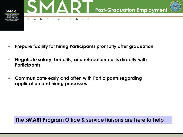 Post-Graduation Employment