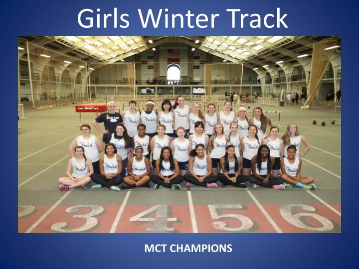 Girls Winter Track