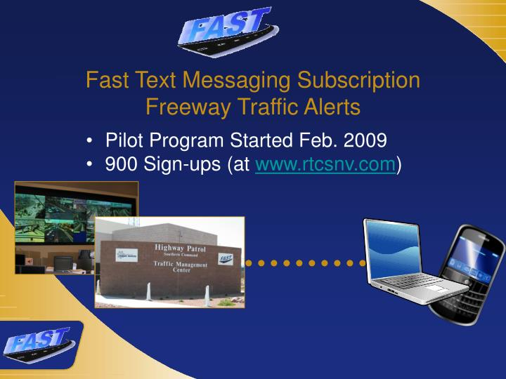 Fast Text Messaging Subscription