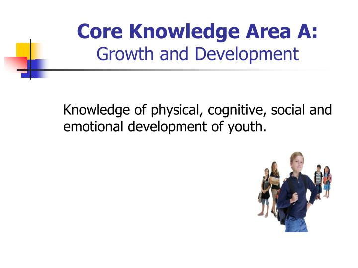Core Knowledge Area A: