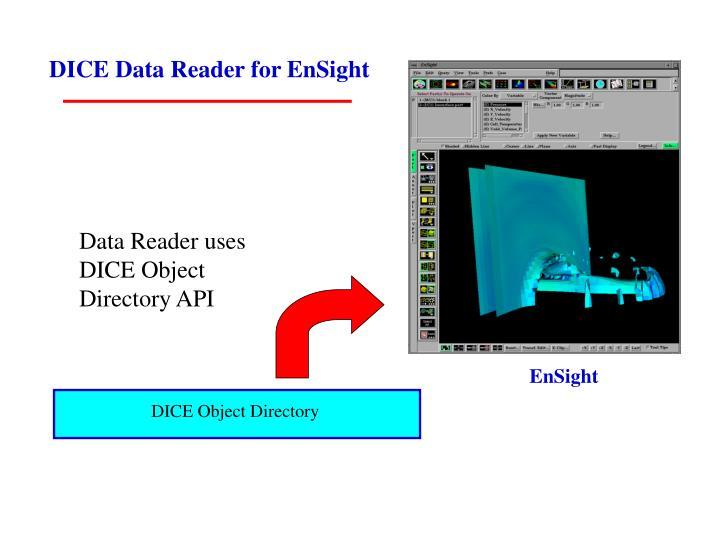 DICE Data Reader for EnSight