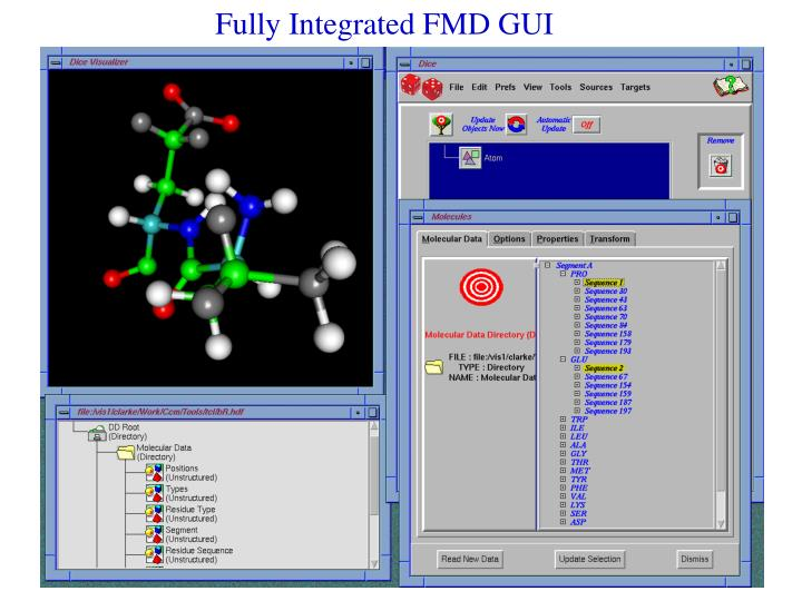 Fully Integrated FMD GUI
