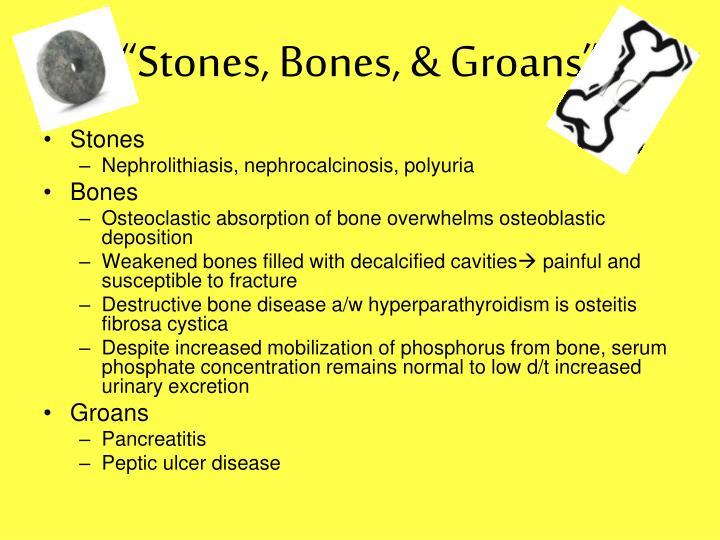 """""""Stones, Bones, & Groans"""""""