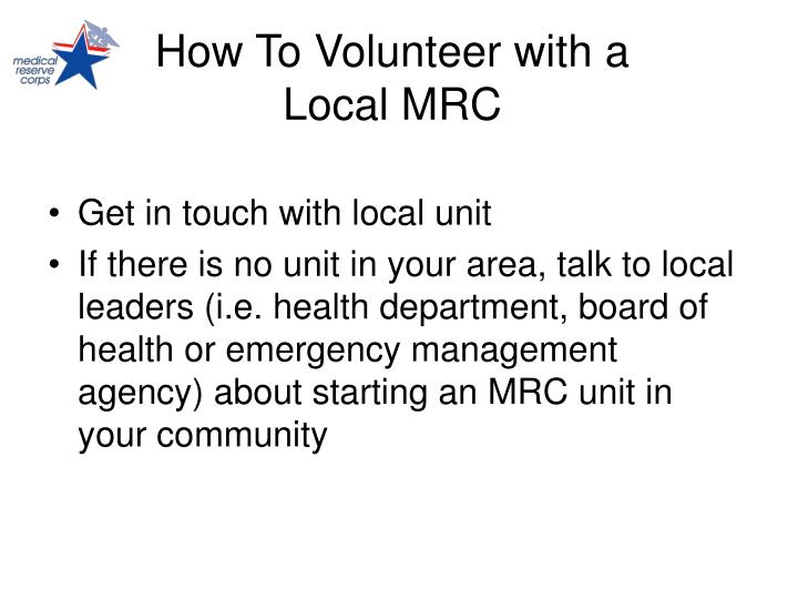 How To Volunteer with a