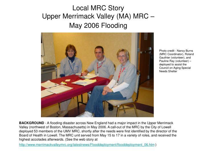Local MRC Story