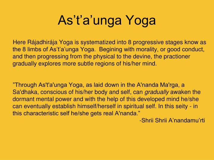 As't'a'unga Yoga