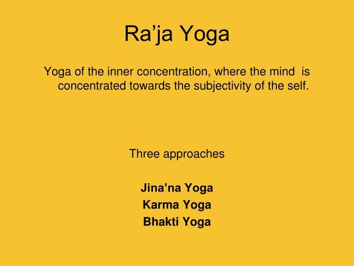 Ra'ja Yoga