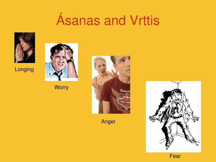 Ásanas and Vrttis