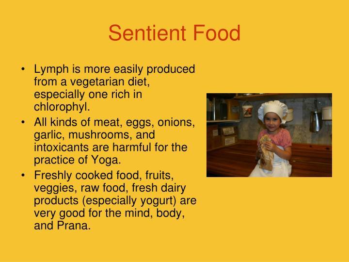 Sentient Food