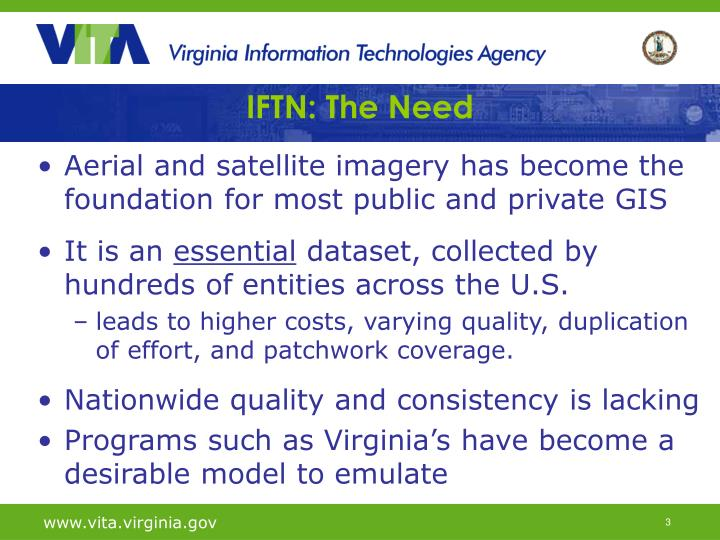 IFTN: The Need