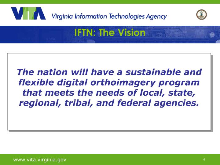 IFTN: The Vision