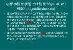 magnetic domain
