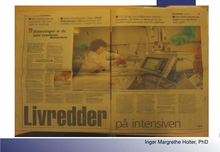 Inger Margrethe Holter, PhD