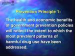 prevention principle 1
