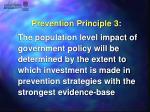 prevention principle 3