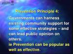 prevention principle 4