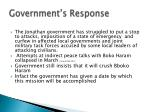 government s response