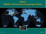 where rand s presence is increasingly global