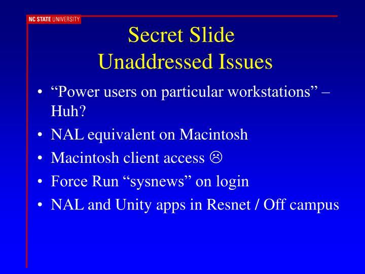 Secret Slide