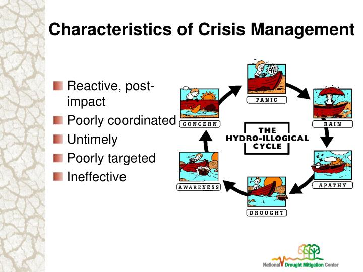 Characteristics of Crisis Management