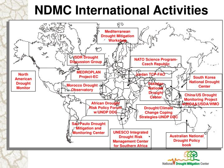 NDMC International Activities