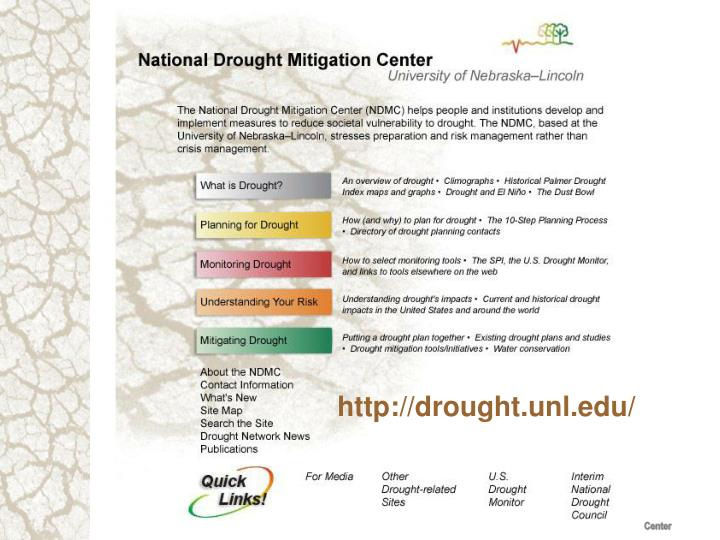 http://drought.unl.edu/